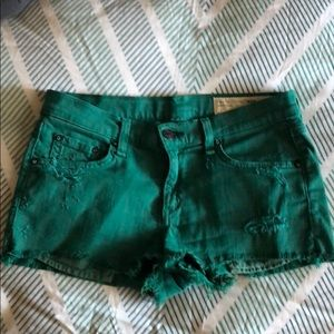 Rag and Bone shorts for Intermix